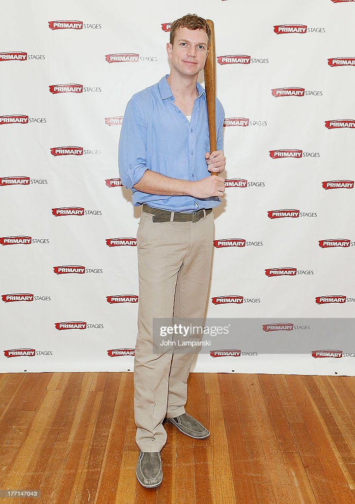 John Werenke attends the cast meet and greet for the upcoming Off-Broadway production 'Bronx Bombers' at Playwrights Horizons Rehearsal Studios on August 21, 2013 in New York City.