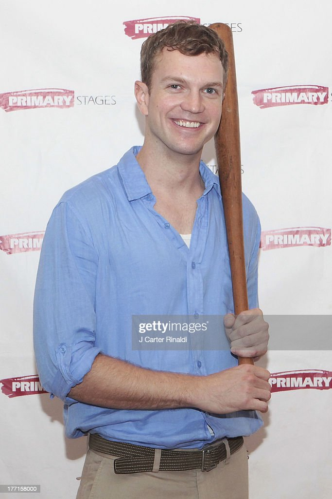John Wernke attends the cast meet and greet for the upcoming Off-Broadway production 'Bronx Bombers' at Playwrights Horizons Rehearsal Studios on August 21, 2013 in New York City.