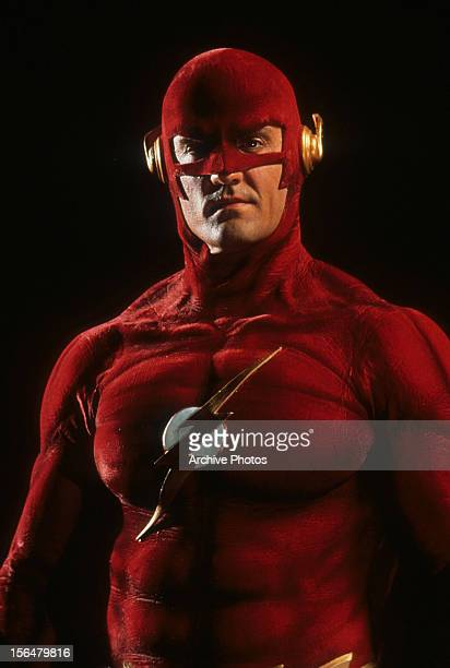 John Wesley Shipp publicity portrait for television series 'The Flash' 1990