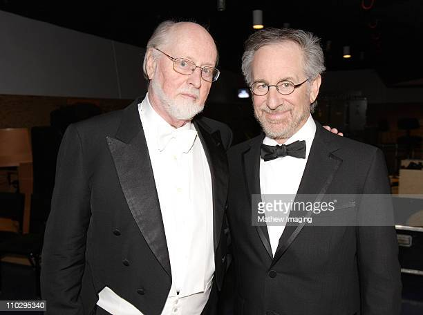 John Williams and Steven Spielberg *Exclusive* FOR EDITORIAL USE ONLY