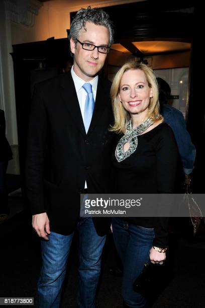John Winterman and Gillian Miniter attend 'BURGUNDY BORDEAUX BLUE JEANS BLUES' A Casual Sunday Supper at DANIEL for the benefit of CITYMEALSONWHEELS...