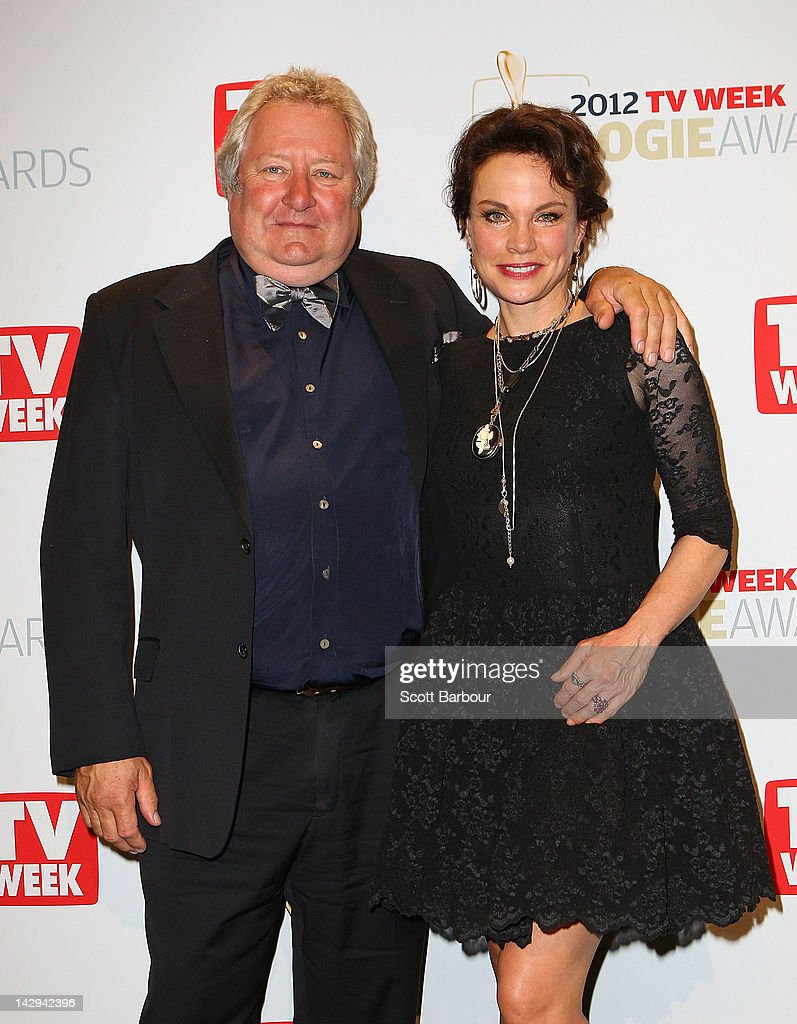 John Wood and Sigrid Thornton pose in the Awards Room at the 2012 Logie Awards at the Crown Palladium on April 15 2012 in Melbourne Australia