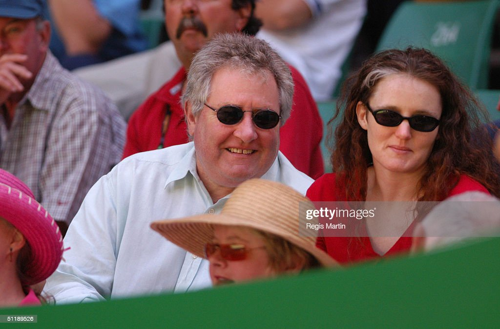 John Wood at the Rod Laver Arena for the tenth day of The Australian Tennis Open in Melbourne Victoria Australia