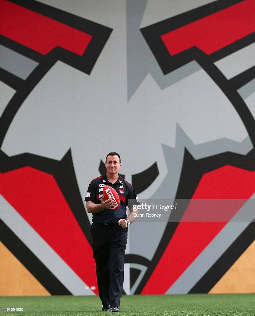 Essendon Bombers Press Conference