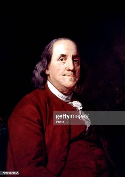 John Wright portrait of Benjamin Franklin United States Corcoran gallery of arts
