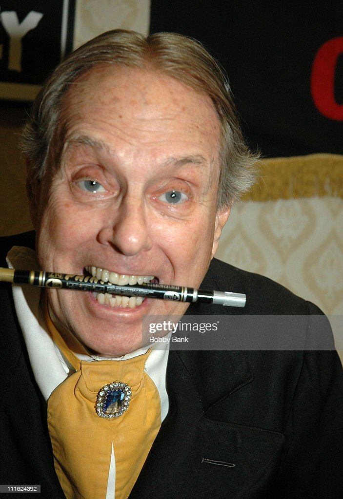 John Zacherle (aka Zacherley) during The 2006 Chiller Theatre's Summer Extravaganza at Crown Plaza Hotel in Secaucus, New Jersey, United States.