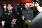 Johnathan Duffy and Kelly Williams attend the Alfred P Sloan Foundation Reception and Prize Announcement during the 2016 Sundance Film Festival at...