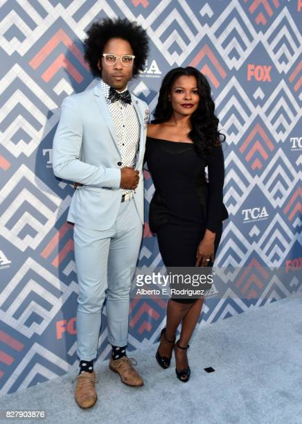 Johnathan Fernandez and Keesha Sharp attend the FOX 2017 Summer TCA Tour after party on August 8 2017 in West Hollywood California