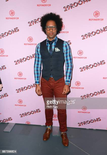 Johnathan Fernandez attends Refinery29 29Rooms Los Angeles Turn It Into Art Opening Night Party at ROW DTLA on December 6 2017 in Los Angeles...