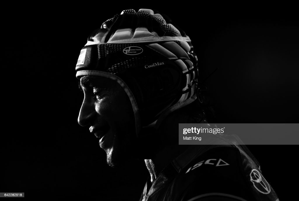 Johnathan Thurston of the Cowboys looks on during the NRL Trial match between the Wests Tigers and the North Queensland Cowboys at Campbelltown Stadium on February 17, 2017 in Sydney, Australia.