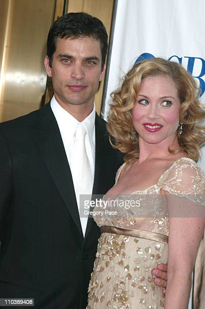 Johnathon Schaech and Christina Applegate nominee Best Performance by a Leading Actress in a Musical for 'Sweet Charity'