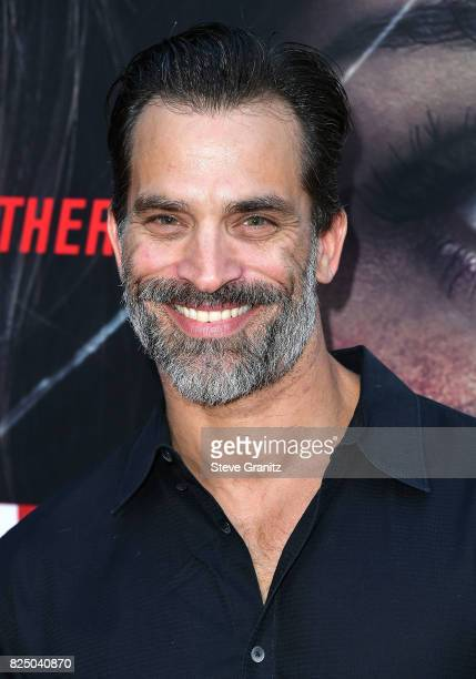 Johnathon Schaech arrives at the Premiere Of Aviron Pictures' 'Kidnap' at ArcLight Hollywood on July 31 2017 in Hollywood California
