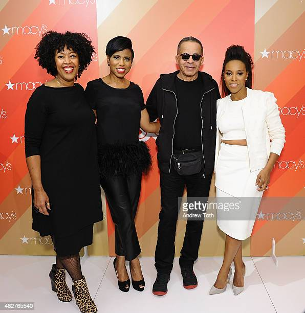 Johnetta Boone Jacque Reid Stephen Burrows and June Ambrose attend Macy's Herald Square Black History Month Celebration at Macy's Herald Square on...