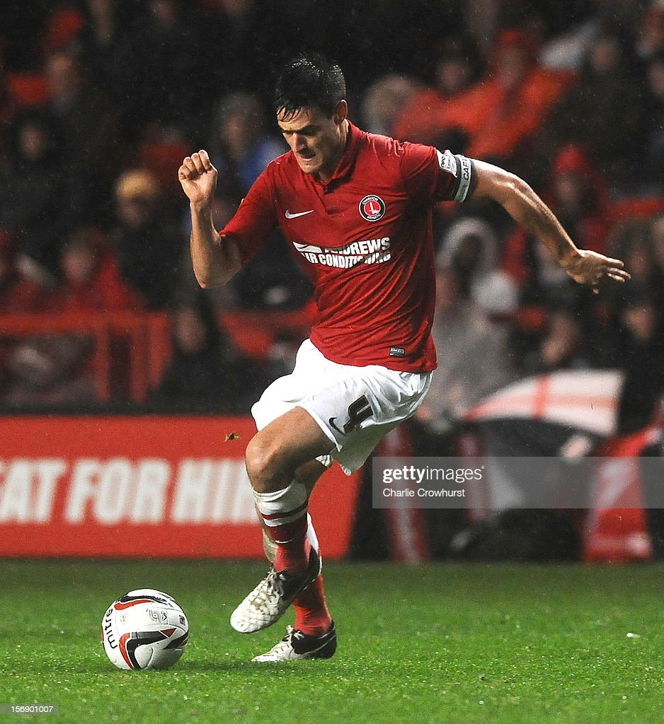 <a gi-track='captionPersonalityLinkClicked' href=/galleries/search?phrase=Johnnie+Jackson&family=editorial&specificpeople=853675 ng-click='$event.stopPropagation()'>Johnnie Jackson</a> of Charlton during the npower Championship match between Charlton Athletic and Huddersfield Town at The Valley on November 24, 2012 in London, England.