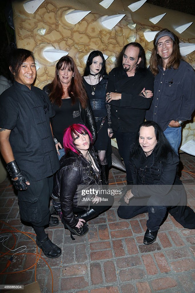 Johnnie Saiko Sonia Hall Constance Hall Raven Schofield Cleve Hall Raven Tremblay and Jim Mitchell are seen on September 16 2014 in Los Angeles...