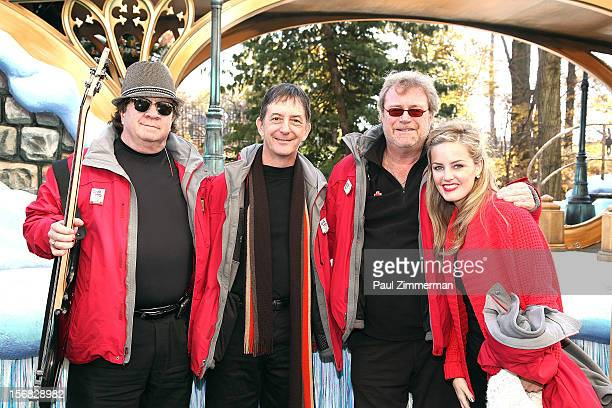 Johnny Adams Jonathan Swoboda Chip Davis and Karly Jurgensen of band Mannheim Steamroller Rock Macy's Thanksgiving Day Parade For Unpresidented 3rd...