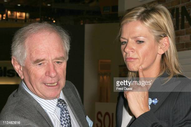 Johnny Ball and Zoe Ball during Daily Mail Ideal Home Show 2006 Photocall at Earls Court in London Great Britain