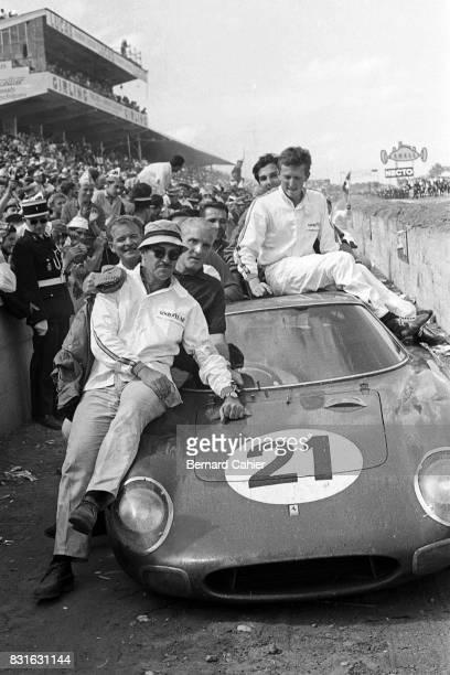 Johnny Baus Jochen Rindt Ed Hugus Masten Gregory Ferrari 250LM 24 Hours of Le Mans Le Mans 20 June 1965
