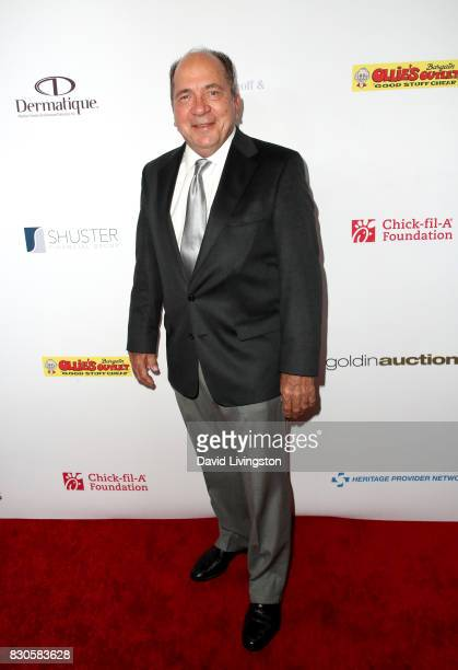 Johnny Bench at the 17th Annual Harold Carole Pump Foundation Gala at The Beverly Hilton Hotel on August 11 2017 in Beverly Hills California