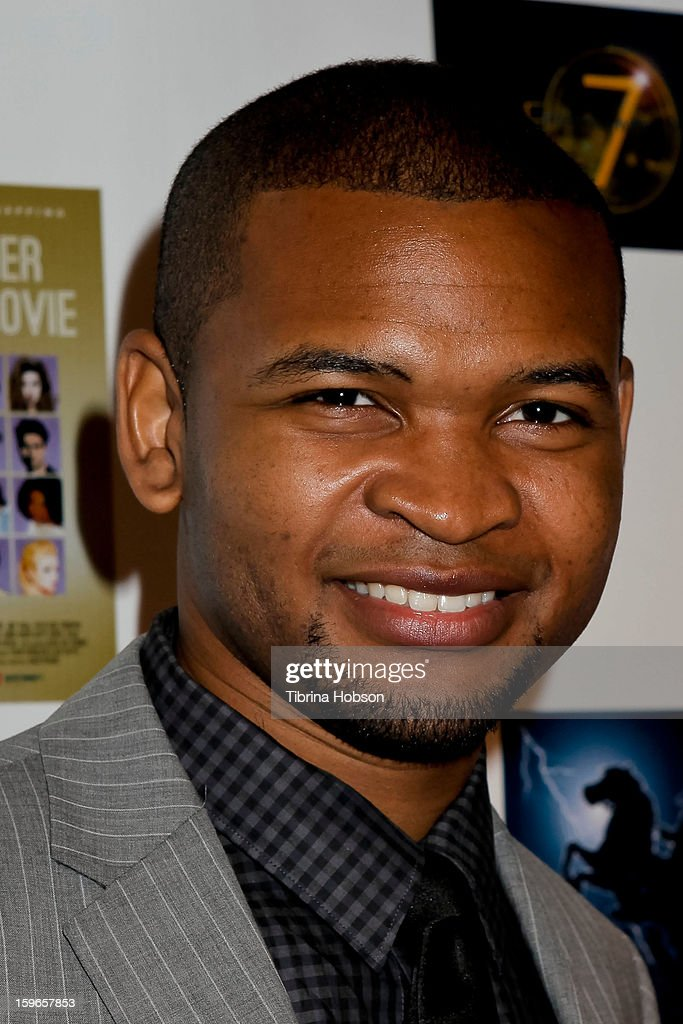 Johnny Boyd attends the 'Not Another Celebrity Movie' Los Angeles premiere at Pacific Design Center on January 17, 2013 in West Hollywood, California.