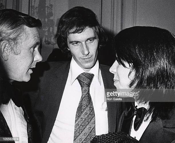 Johnny Carson and Corey Carson during Ed McMahon's Opening November 13 1972 at La Maisonette in New York City New York United States
