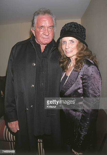 Johnny Cash and June Carter Cash at the Hammerstein Ballroom in New York City New York