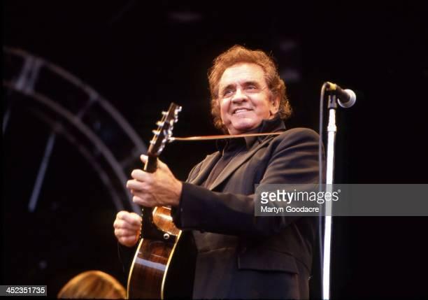 Johnny Cash Glastonbury Festival United Kingdom 1994