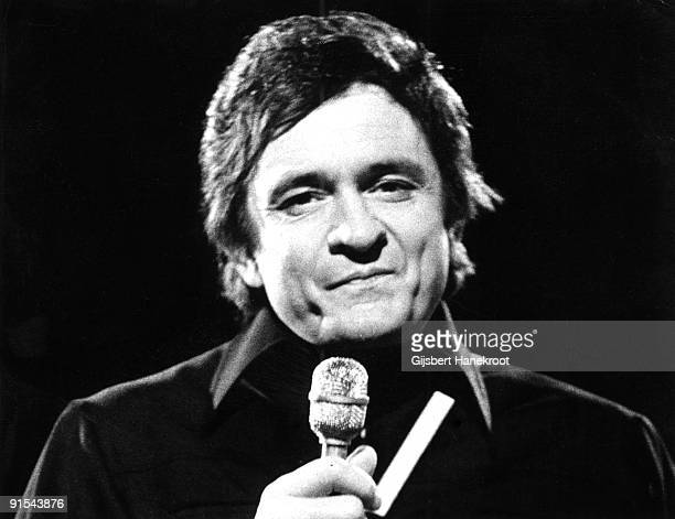 Johnny Cash performs live in Amsterdam Holland in 1972