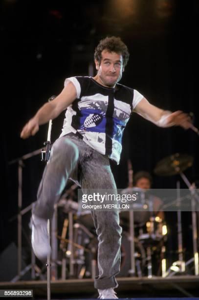 Johnny Clegg a la Fete des Potes le 18 juin 1988 a Vincennes France