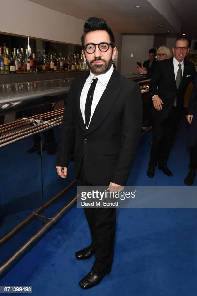 Johnny Coca attends a dinner hosted by Jonathan Newhouse and Albert Read for Edward Enninful to celebrate the December issue of British Vogue at the...