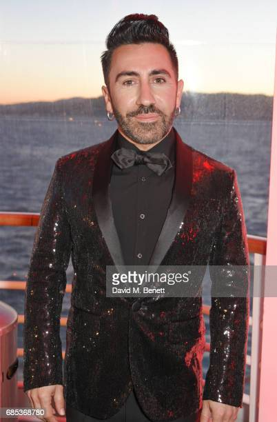 Johnny Coca attends The 9th Annual Filmmakers Dinner hosted by Charles Finch and JaegerLeCoultre at Hotel du CapEdenRoc on May 19 2017 in Cap...