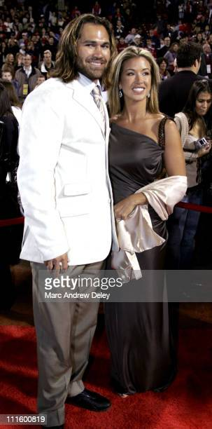 Johnny Damon and Michelle Damon during 'Fever Pitch' Premiere at Fenway Park at Fenway Park in Boston Massachusetts United States