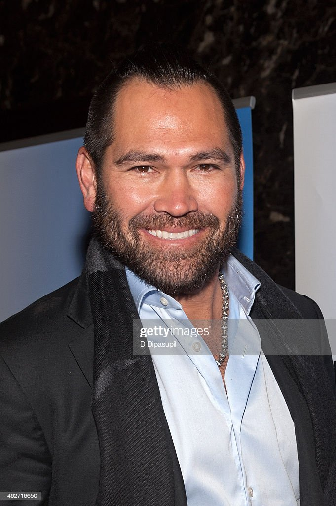 Johnny Damon attends the 'Celebrity Apprentice' Red Carpet Event at Trump Tower on February 3, 2015 in New York City.
