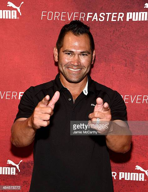 Johnny Damon attends The PUMA Store In Soho Training Event on September 3 2014 in New York City