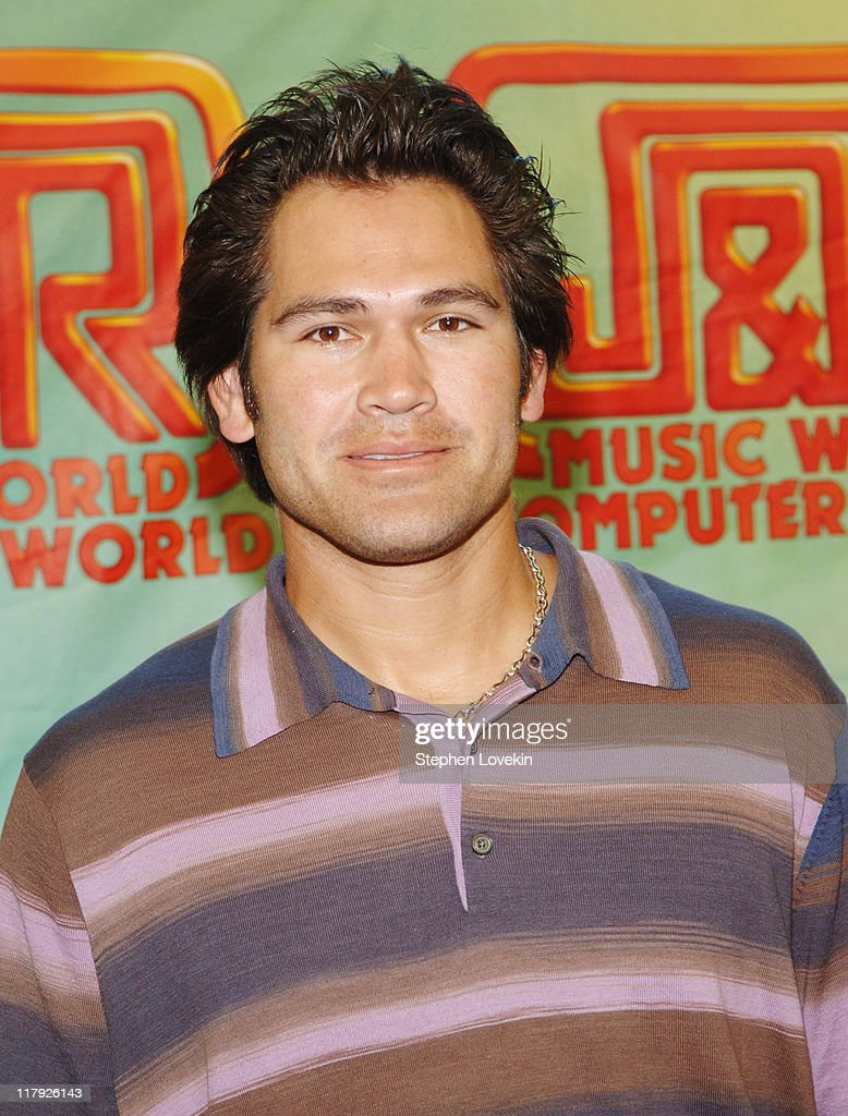 Johnny Damon during New York Yankee Johnny Damon Appears at The Grand Re-Opening of The Camera Store at J & R Music and Computer World at J & R Music and Computer World in New York City, New York, United States.