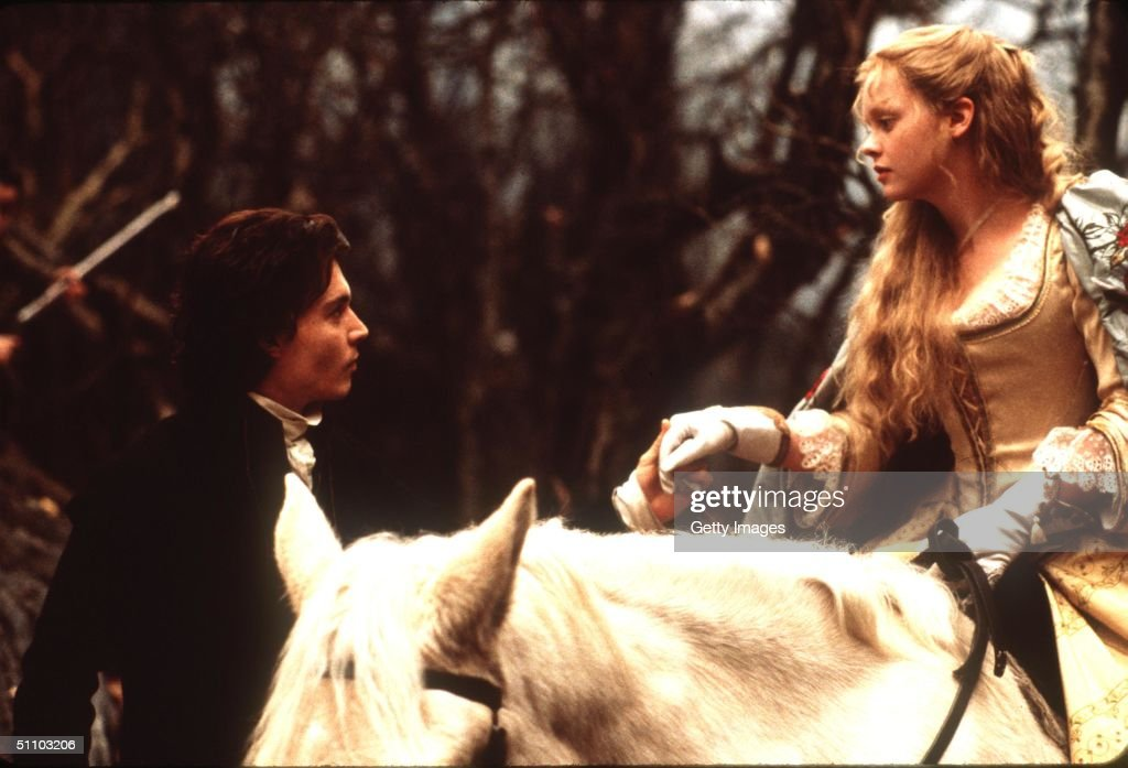 Johnny Deep And Christina Ricci Stars In The Movie 'Sleepy Hollow' directed by Tim Burton