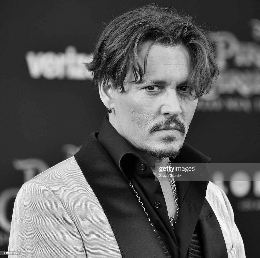 Johnny Depp arrives at the Premiere Of Disney's 'Pirates Of The Caribbean: Dead Men Tell No Tales' at Dolby Theatre on May 18, 2017 in Hollywood, California.