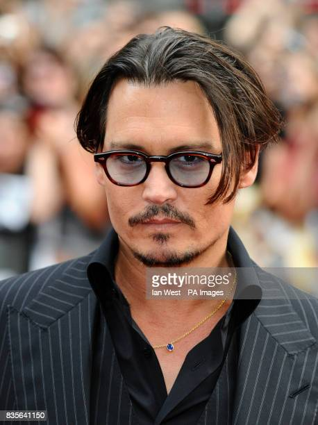 Johnny Depp arriving for the European premiere of Public Enemies at the Empire Leicester Square London