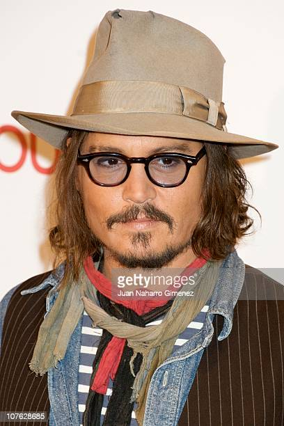 Johnny Depp attends 'The Tourist' photocall at Villamagna Hotel on December 16 2010 in Madrid Spain