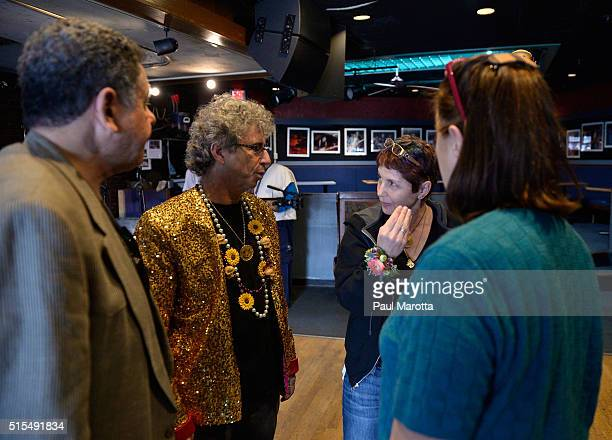 Johnny D's owner Carla DeLellis attends to a myriad of details as as Historic Blues Club Johnny D's Uptown Restaurant and Music Club prepares to open...