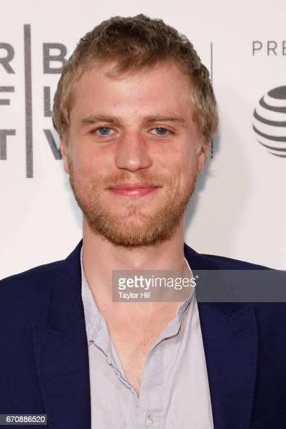 Johnny Flynn attends the premiere of 'Genius' during the 2017 Tribeca Film Festival at Borough of Manhattan Community College on April 20 2017 in New...