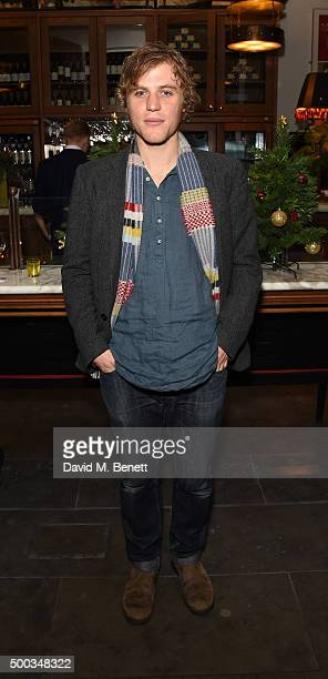 Johnny Flynn attends the press night after party for 'Hangmen' at The National Cafe on December 7 2015 in London England