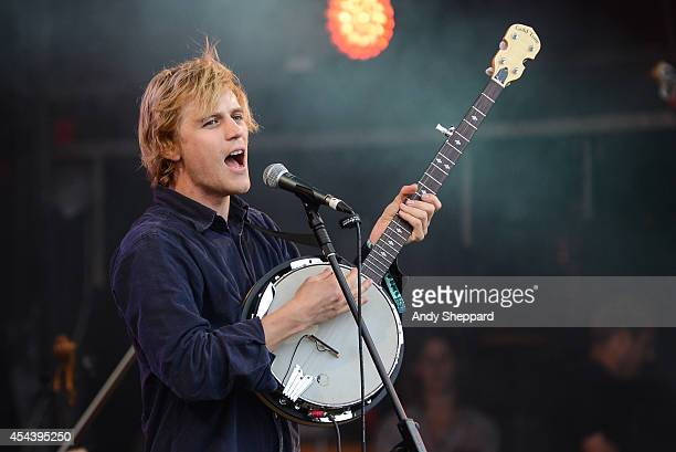 Johnny Flynn The Sussex Wit perform on stage at End Of The Road Festival 2014 at Larmer Tree Gardens on August 30 2014 in Salisbury United Kingdom