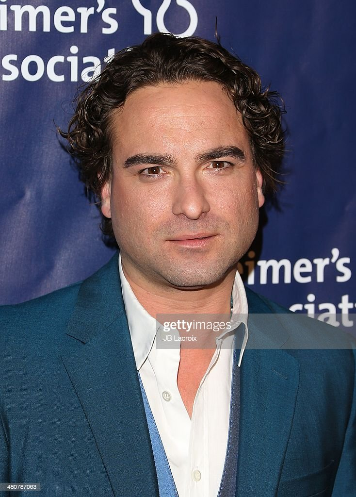 Johnny Galecki attends 'A Night At Sardi's' To Benefit The Alzheimer's Association held at the Beverly Hitlon Hotel on March 26, 2014 in Beverly Hills, California.