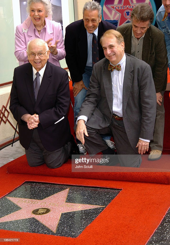 David O. Selznick Honored with a Star on the Hollywood Walk of Fame for His
