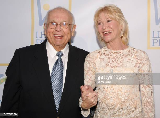 Johnny Grant and Dee Wallace during Grand Opening Of The Assistance League 'Leeza's Place' In Hollywood in Los Angeles CA United States