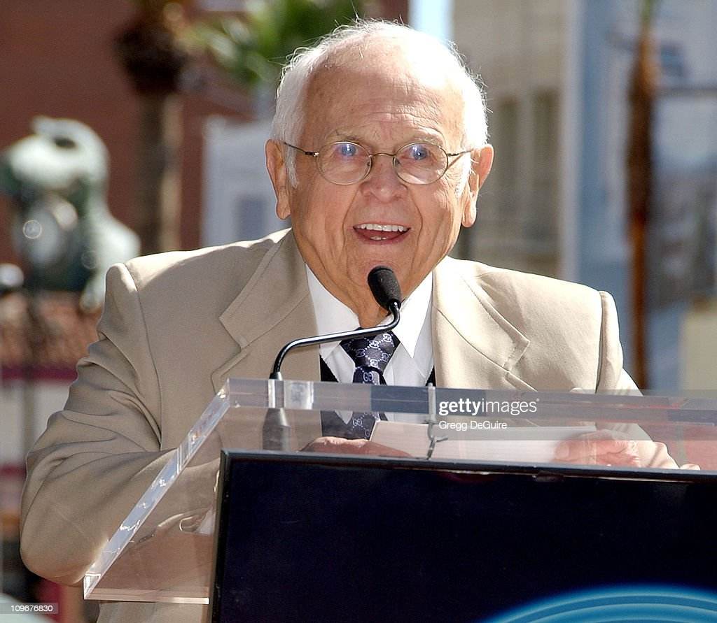 Johnny Grant, Honorary Mayor of Hollywood during The Doors Celebrate 40th Anniversary with a Star on the Hollywood Walk of Fame at Hollywood Blvd. in Hollywood, California, United States.