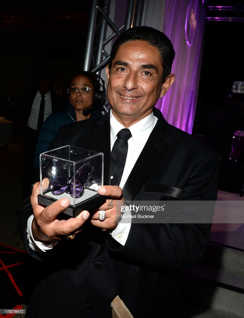 Johnny Gutierrez, recipient of the John Dillon Award attends the 12th Annual Chrysalis Butterfly Ball on June 8, 2013 in Los Angeles, California.