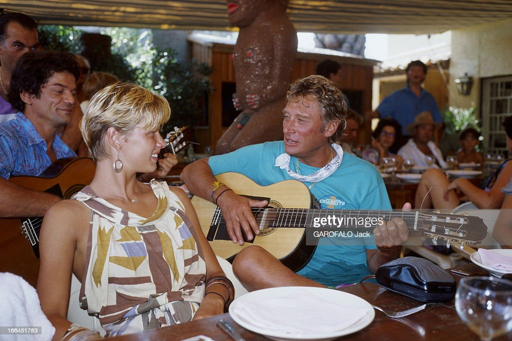Johnny Hallyday Getty Images