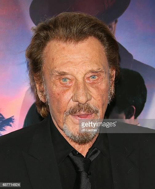 Johnny Hallyday attends the AFI FEST 2016 Presented By Audi Opening Night Premiere Of 20th Century Fox's 'Rules Don't Apply' at TCL Chinese Theatre...
